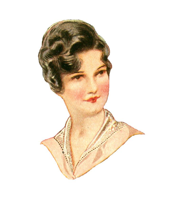 Antique Images: Free Fashion Clip Art: 1915 Women's Vintage.