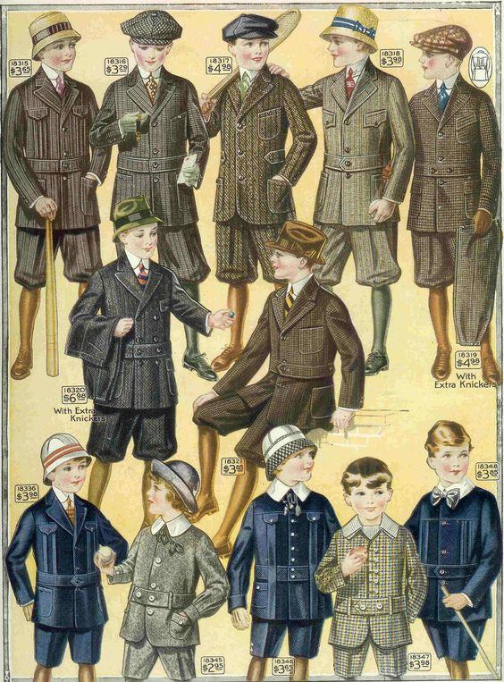 Antique Images: Free Fashion Clip Art: Children's Antique Fashion.
