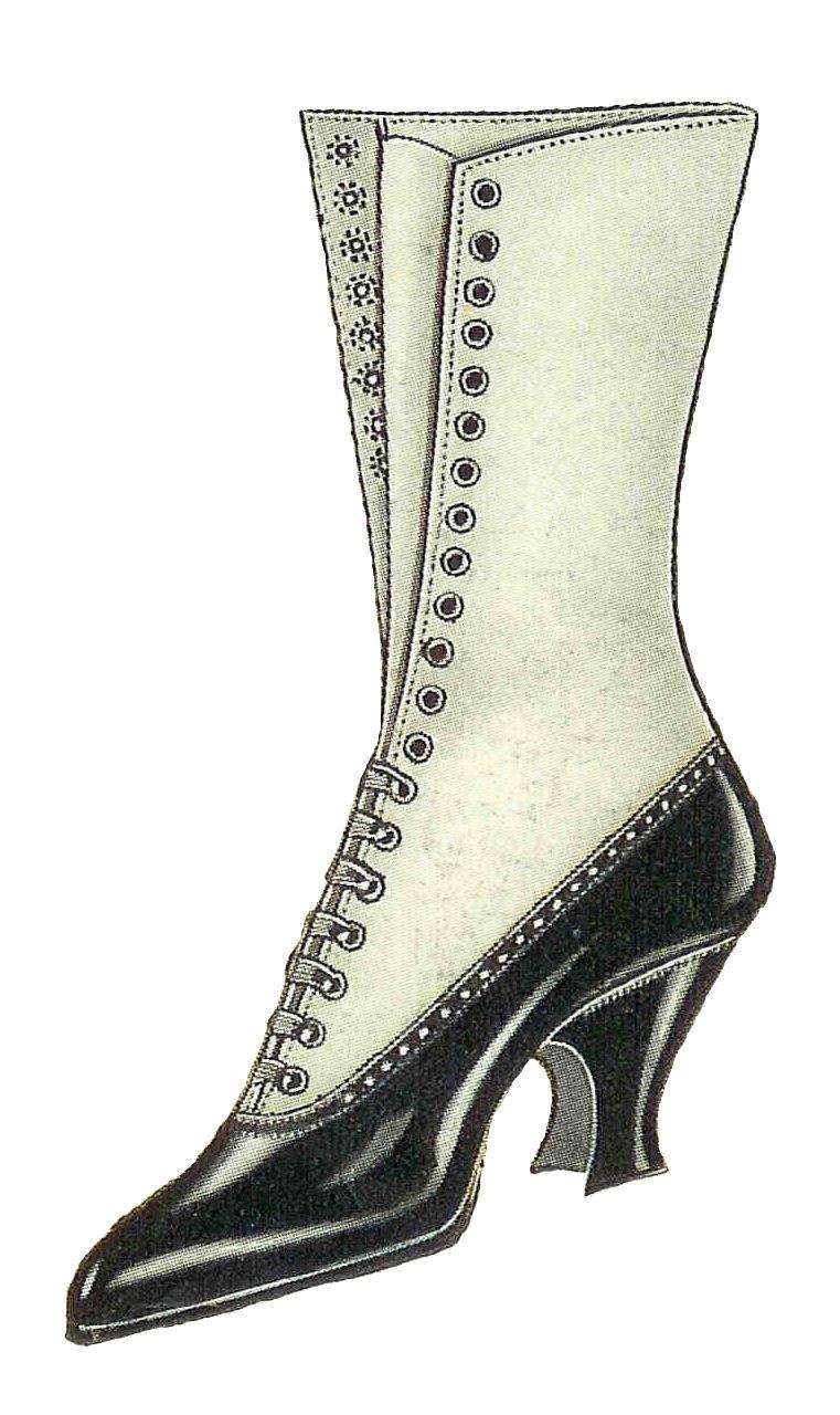Clip Art Shoe Fashion Clipart.