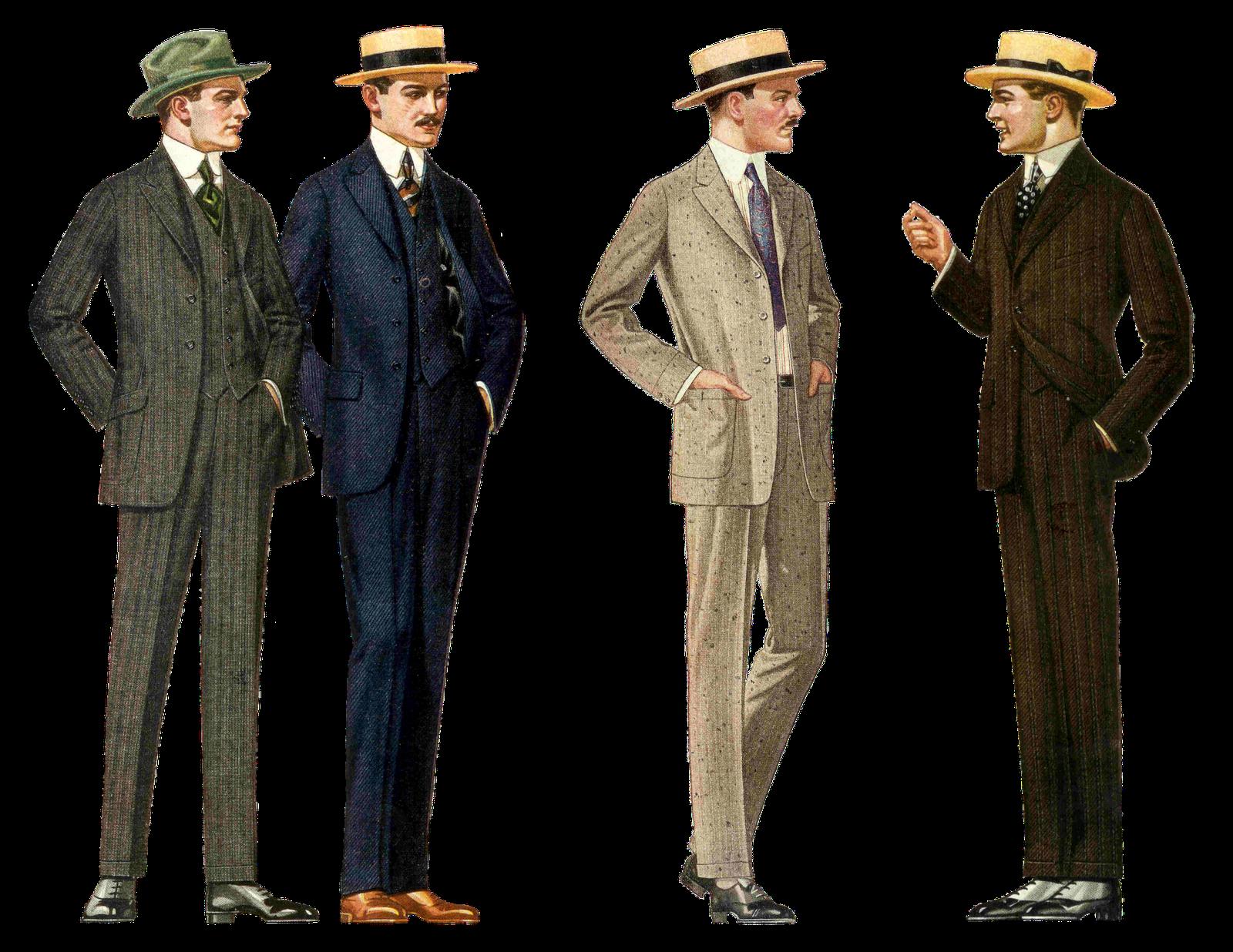 Men's Clothing Clipart.