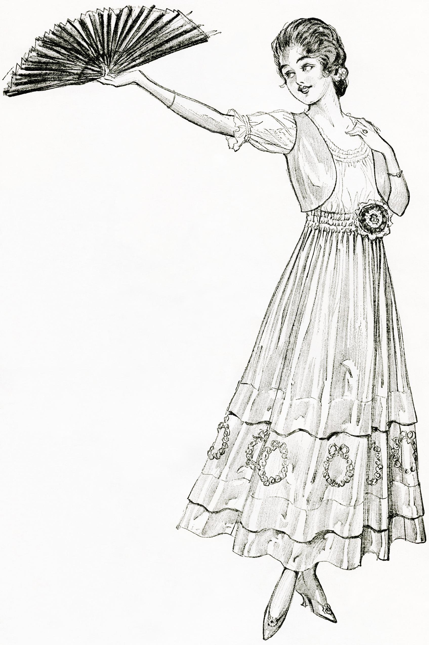 Vintage Summer Clipart.