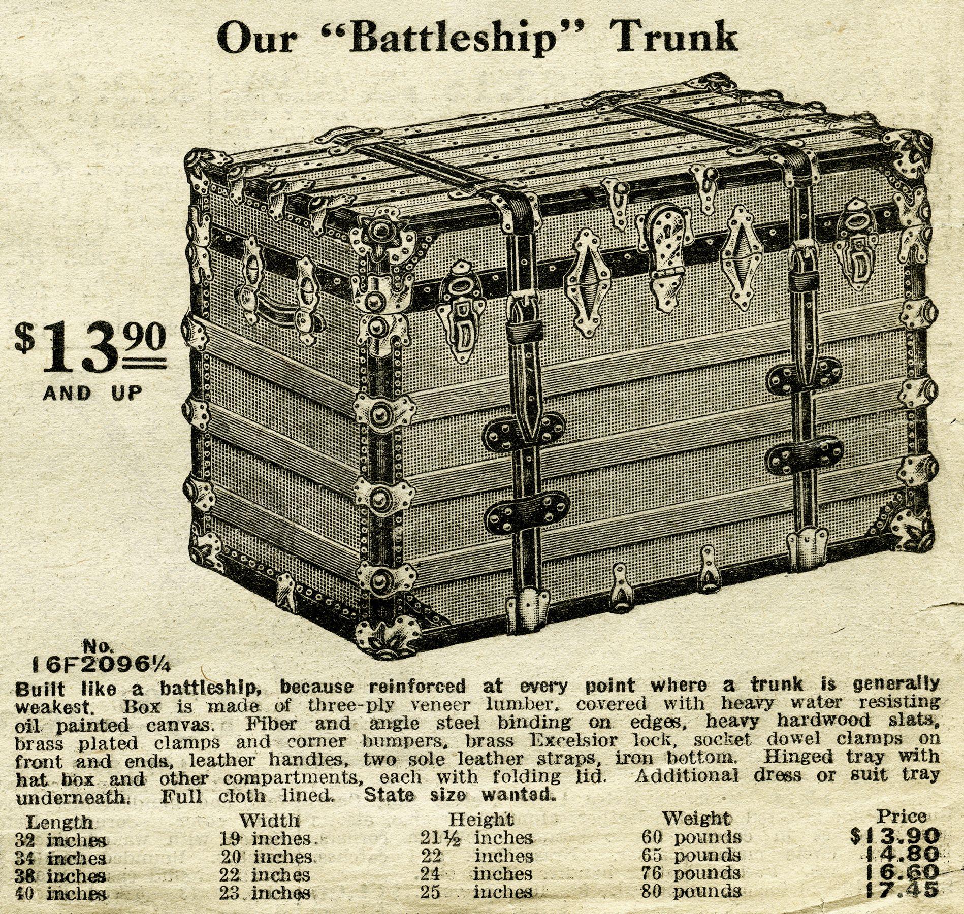 1916 Sears catalogue.