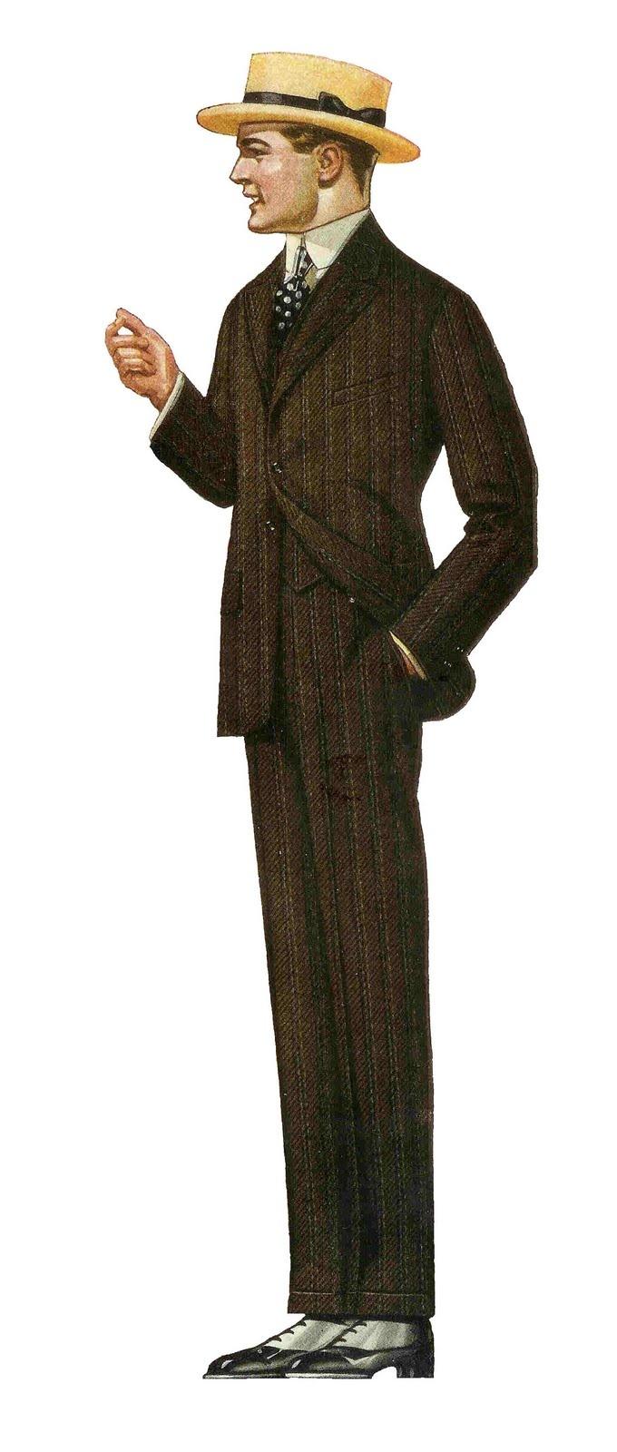 Clip Art Men's Suits Clipart.