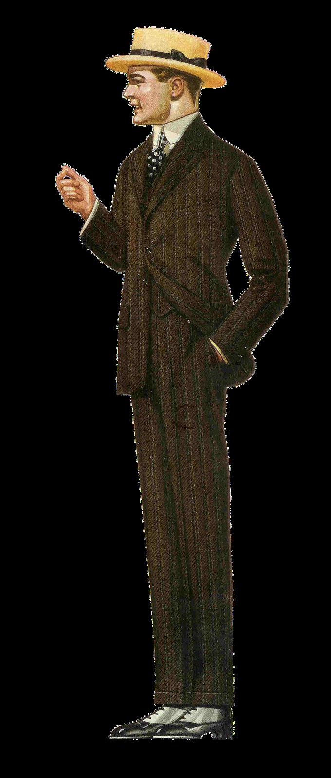 1917 fashion men.