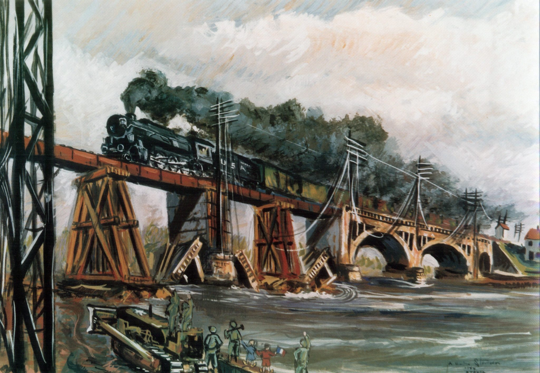 Railroaders in Olive Drab: The Military Railway Service in.