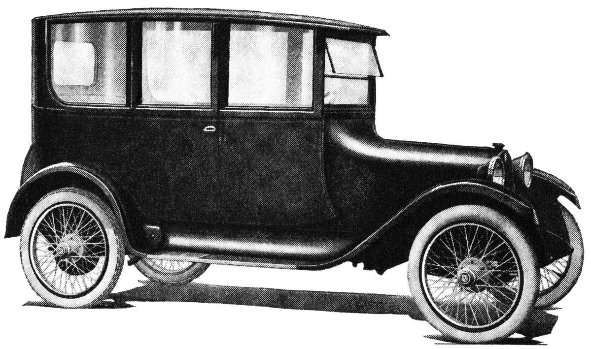 1918 Car ~ Free Vintage Clip Art.