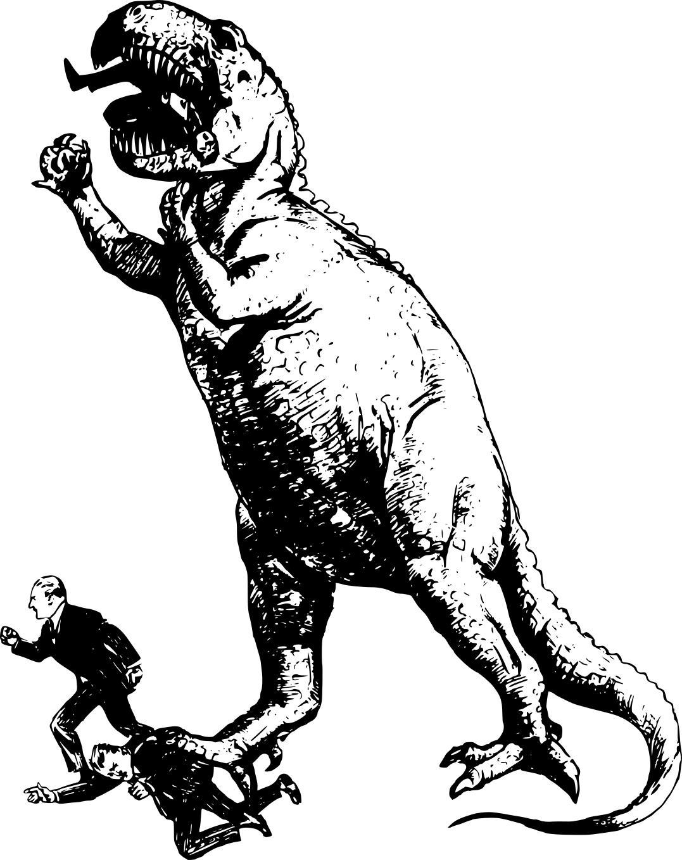 Jurassic Park 1918 Clipart.