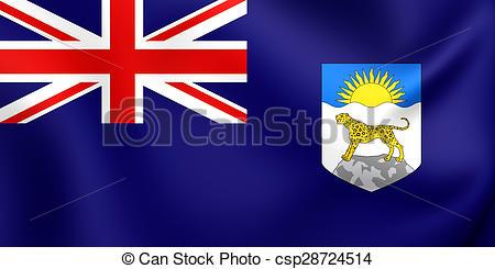 Clipart of Flag of Nyasaland Protectorate (1919.