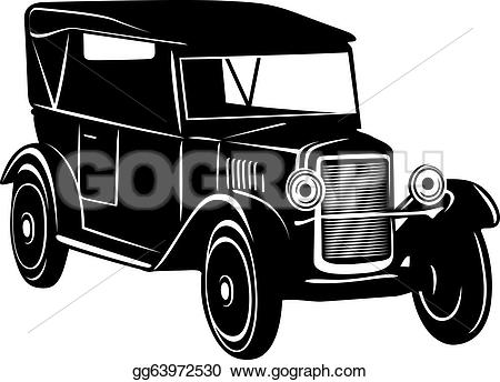 1920s Cars Drawing.