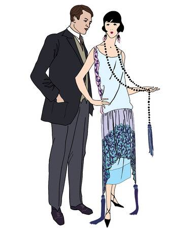 1920s Stock Vector Illustration And Royalty Free 1920s Clipart.