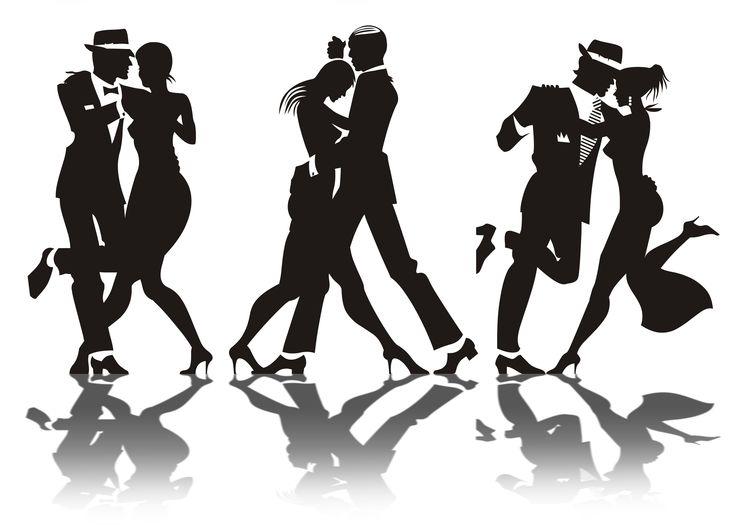 1920 Dance Clipart.