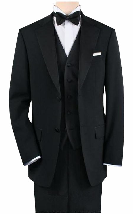 1920s Mens Evening Wear: Tuxedos and Dinner Jackets.