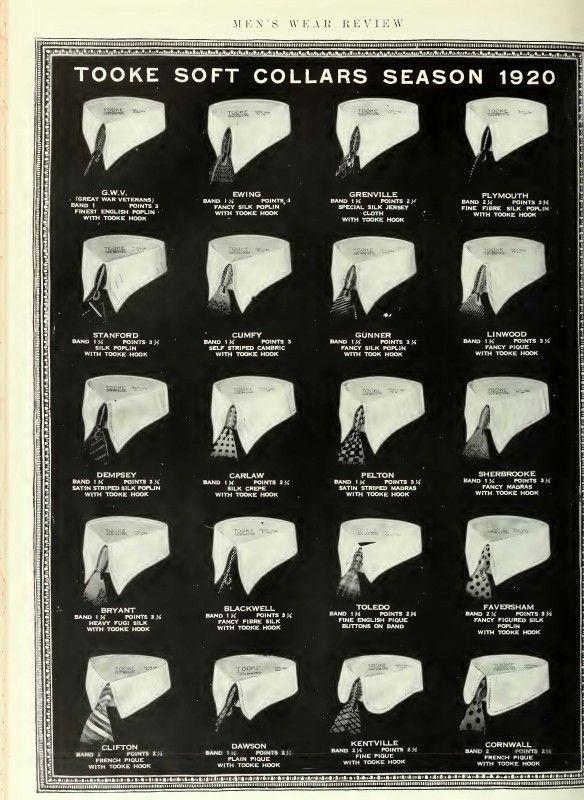 1920s mens detachable collars in 2019.