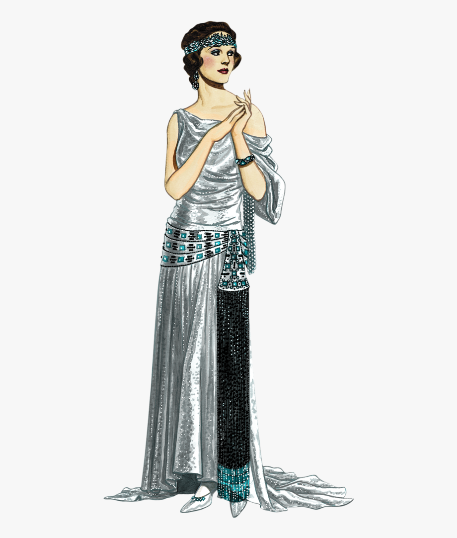 1920s Girl Png.