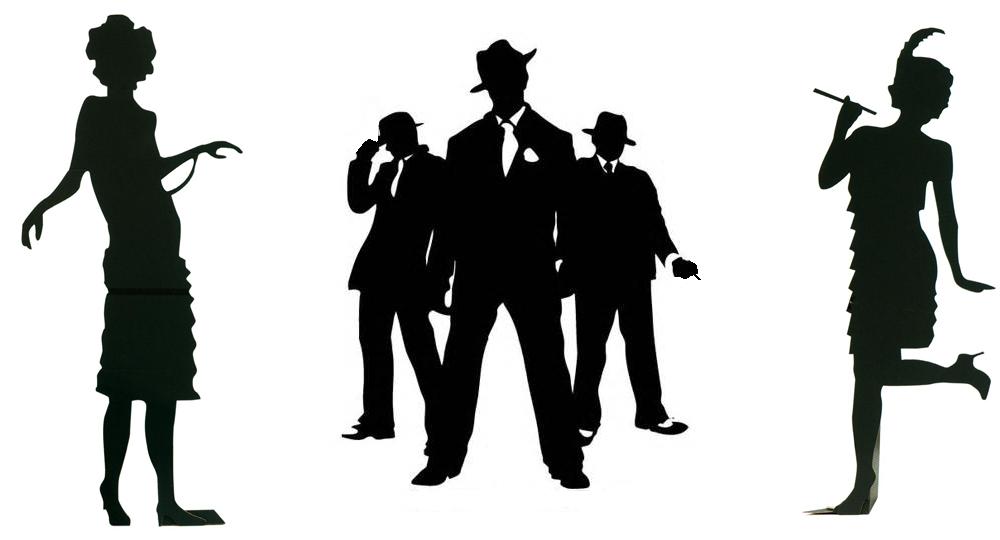 1920 Gangster Silhouette at GetDrawings.com.