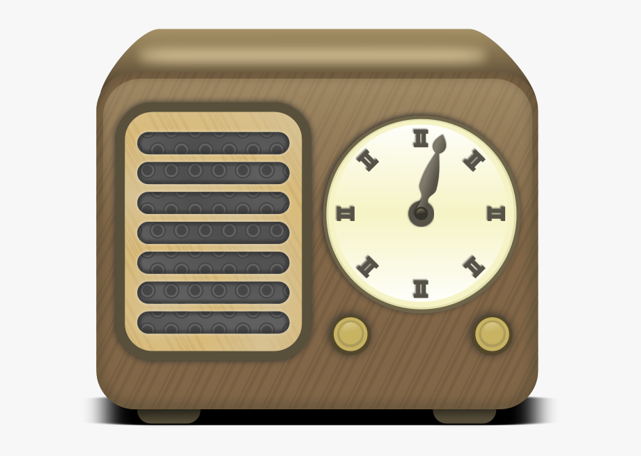 1920\'s Radio Clipart , Transparent Cartoon, Free Cliparts.