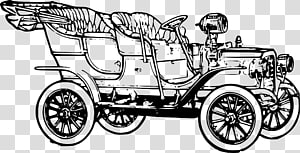 Cars In The 1920s transparent background PNG cliparts free.