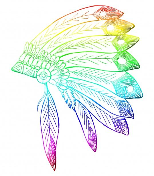 Feathers Headdress Clipart Free Stock Photo.