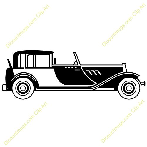Great Gatsby Car Clipart.