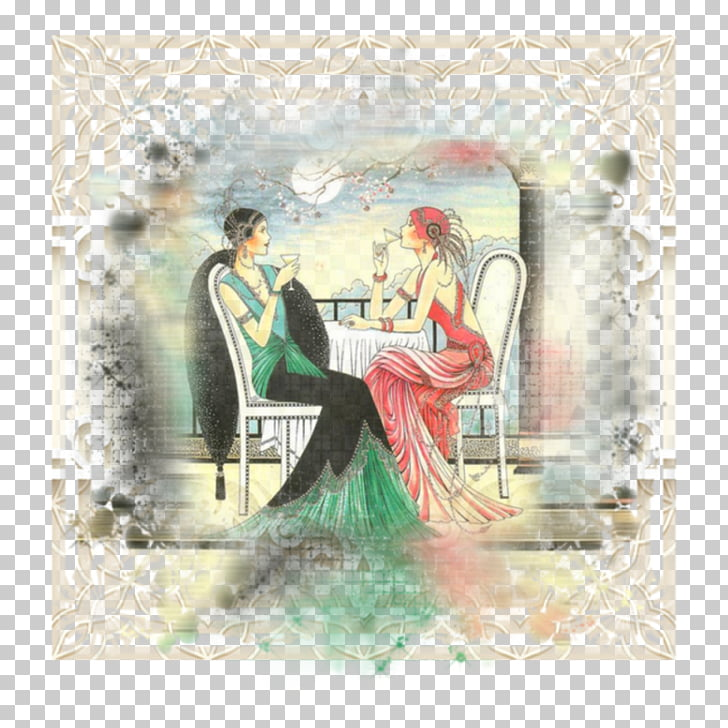 1920s Jazz Age Art Deco Style, design PNG clipart.
