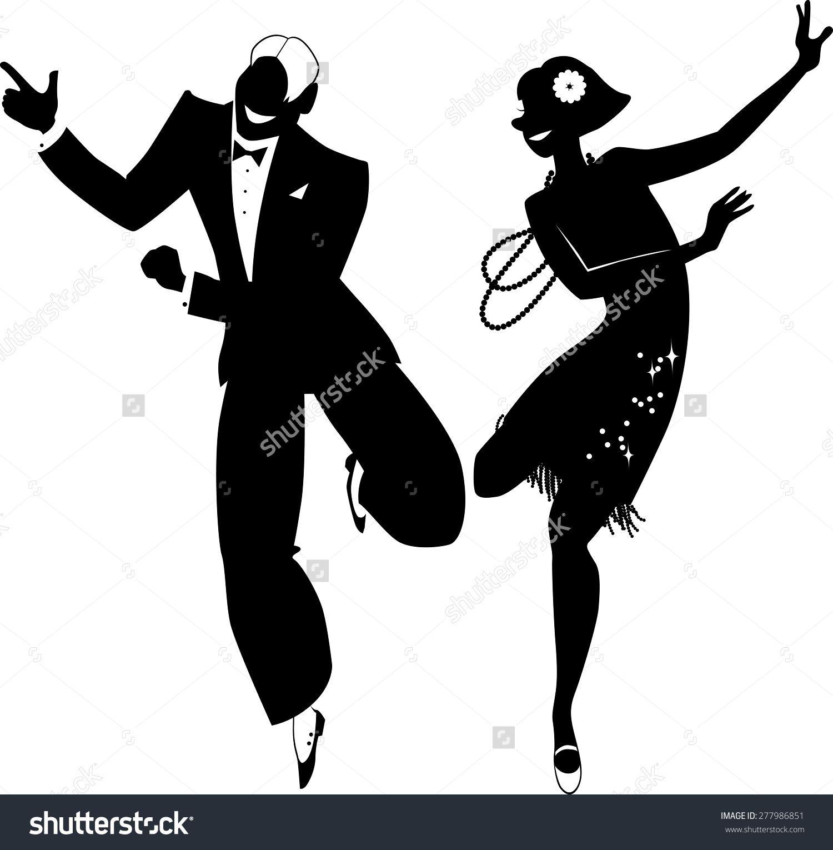 1920\'s man dancing.