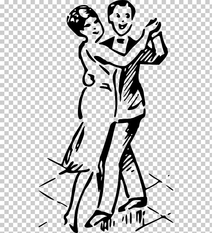 1930s 1920s 1950s , Couple dance PNG clipart.