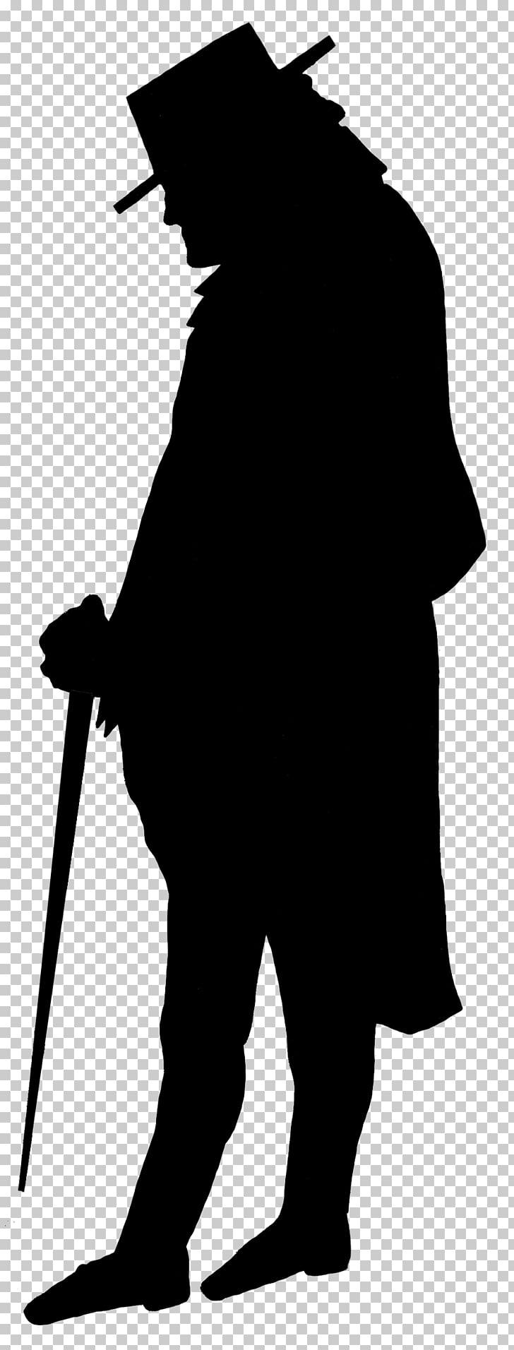 1920s Flapper Silhouette Roaring Twenties , man silhouette.