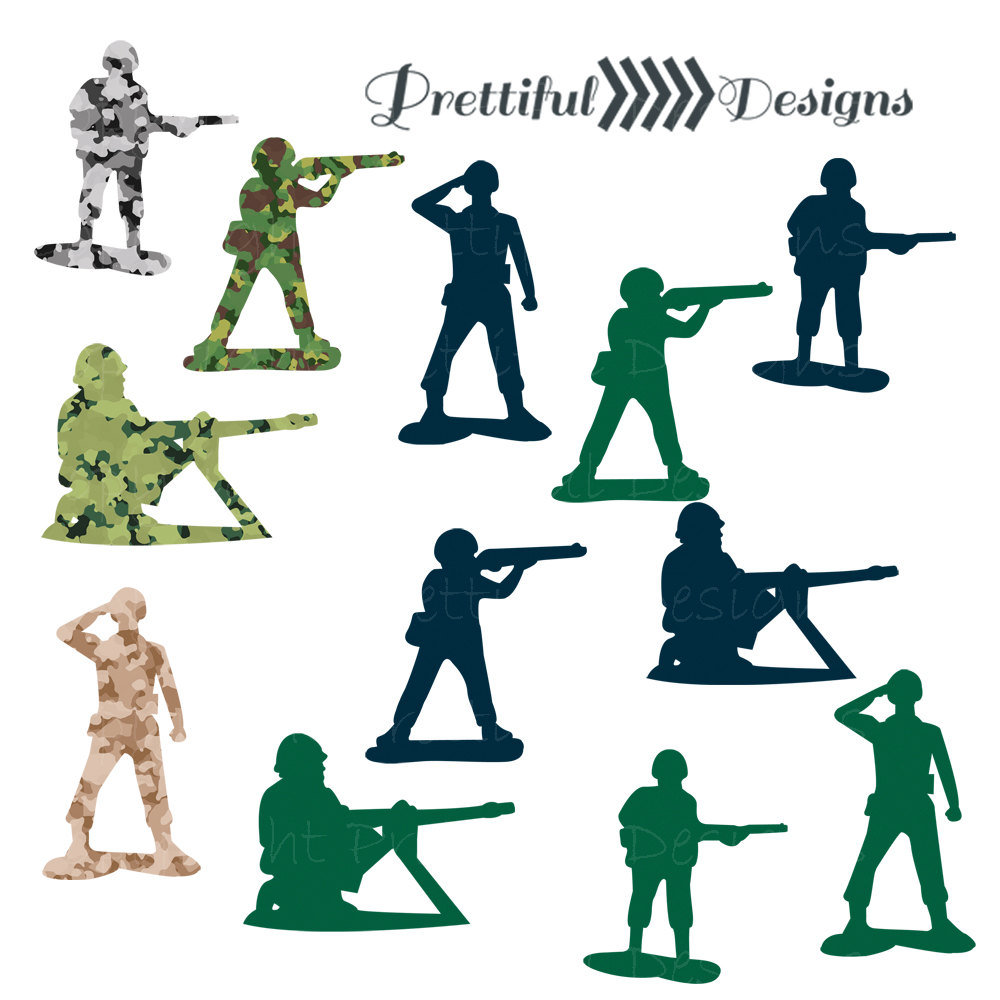 Military Man Man Clipart.