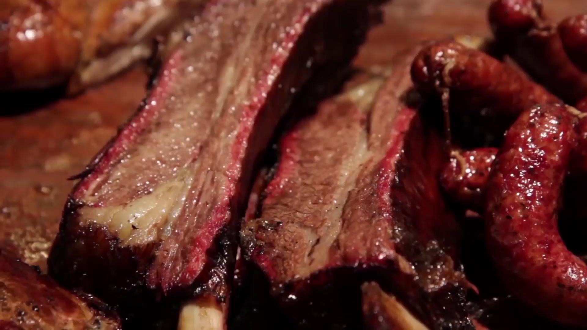 Texas BBQ Beef Ribs.