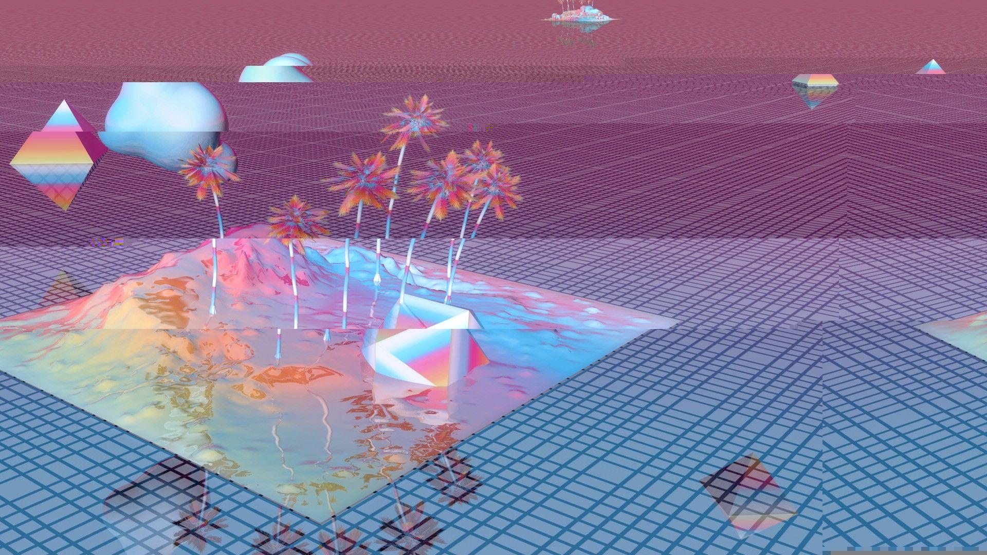 Vaporwave Desktop Wallpapers.