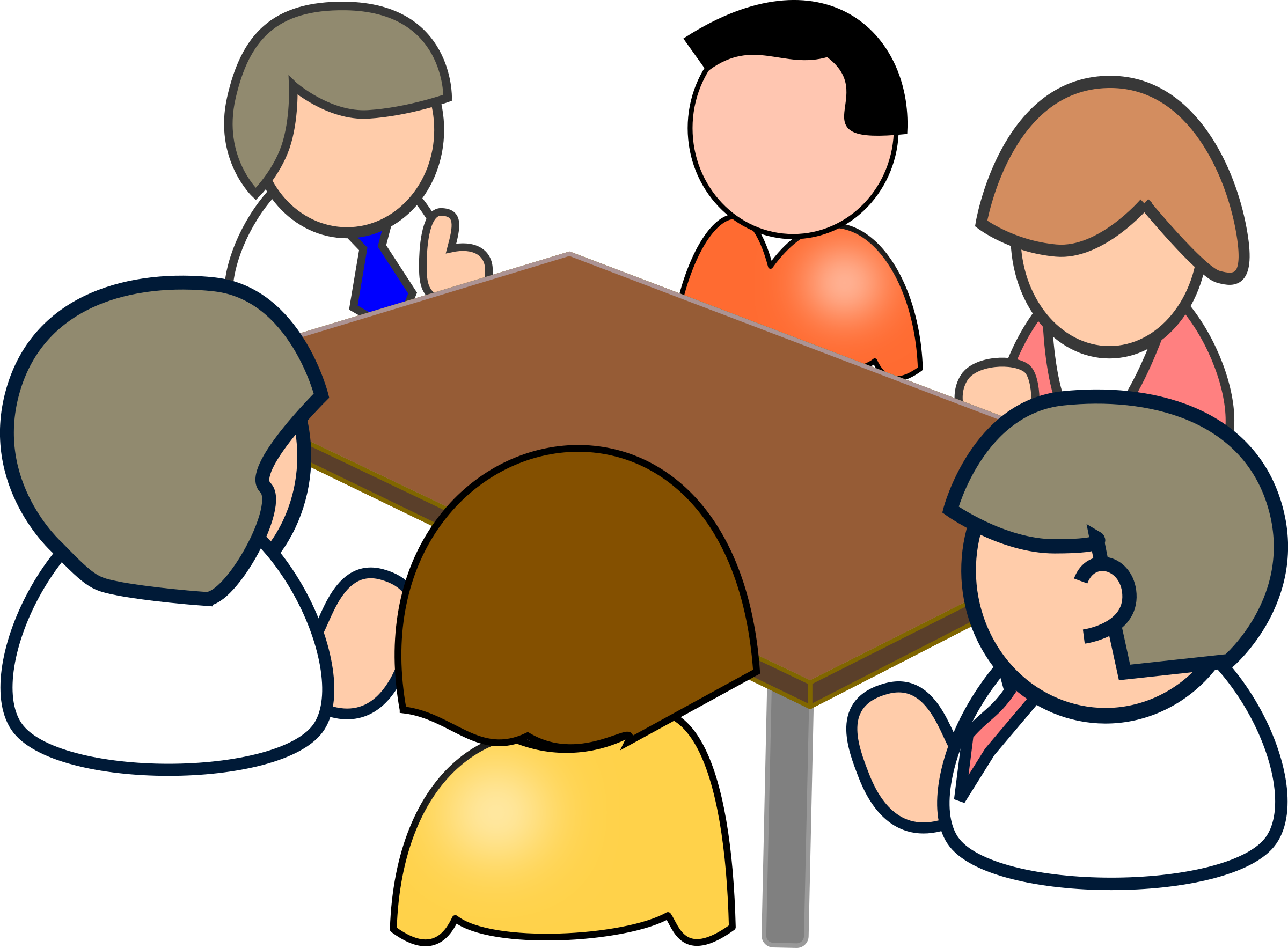 Meeting Clipart Transparent Background.