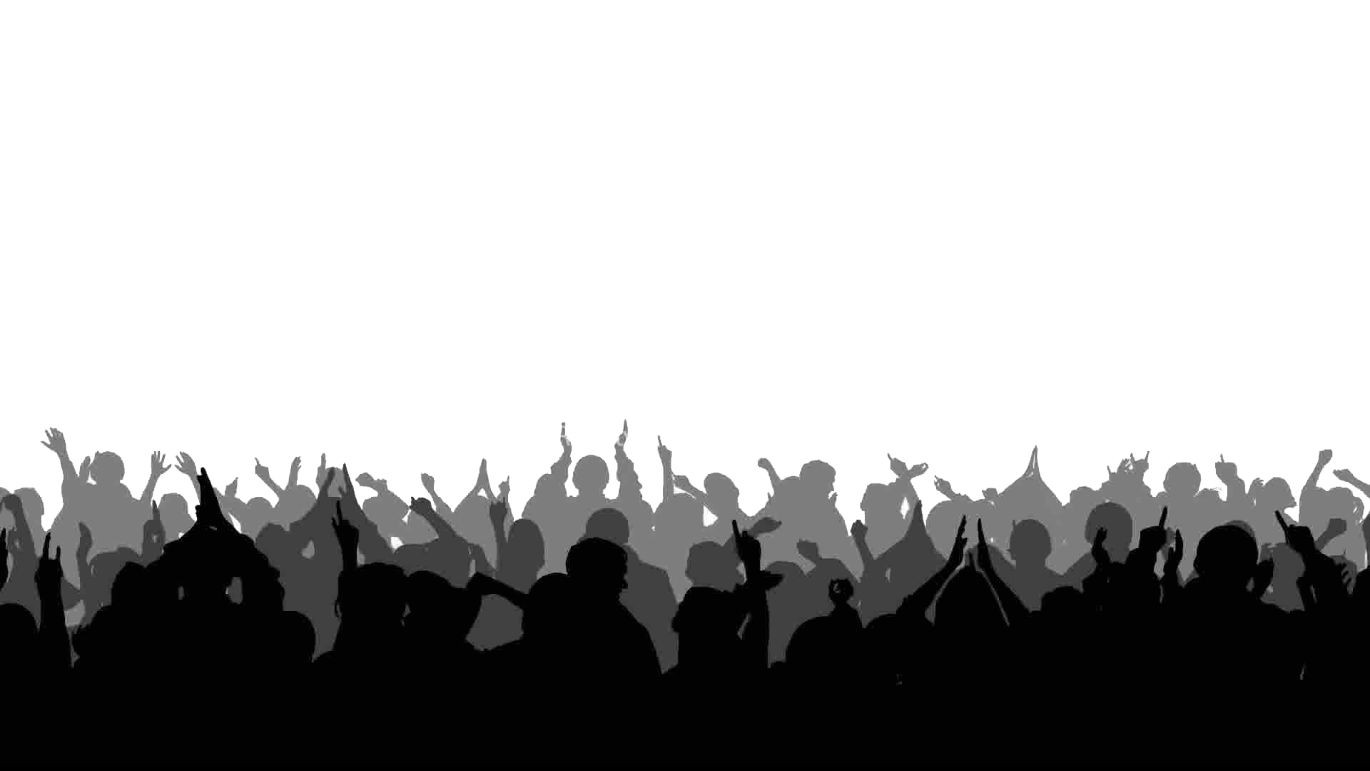 Silhouette Stock footage Crowd Clip art.
