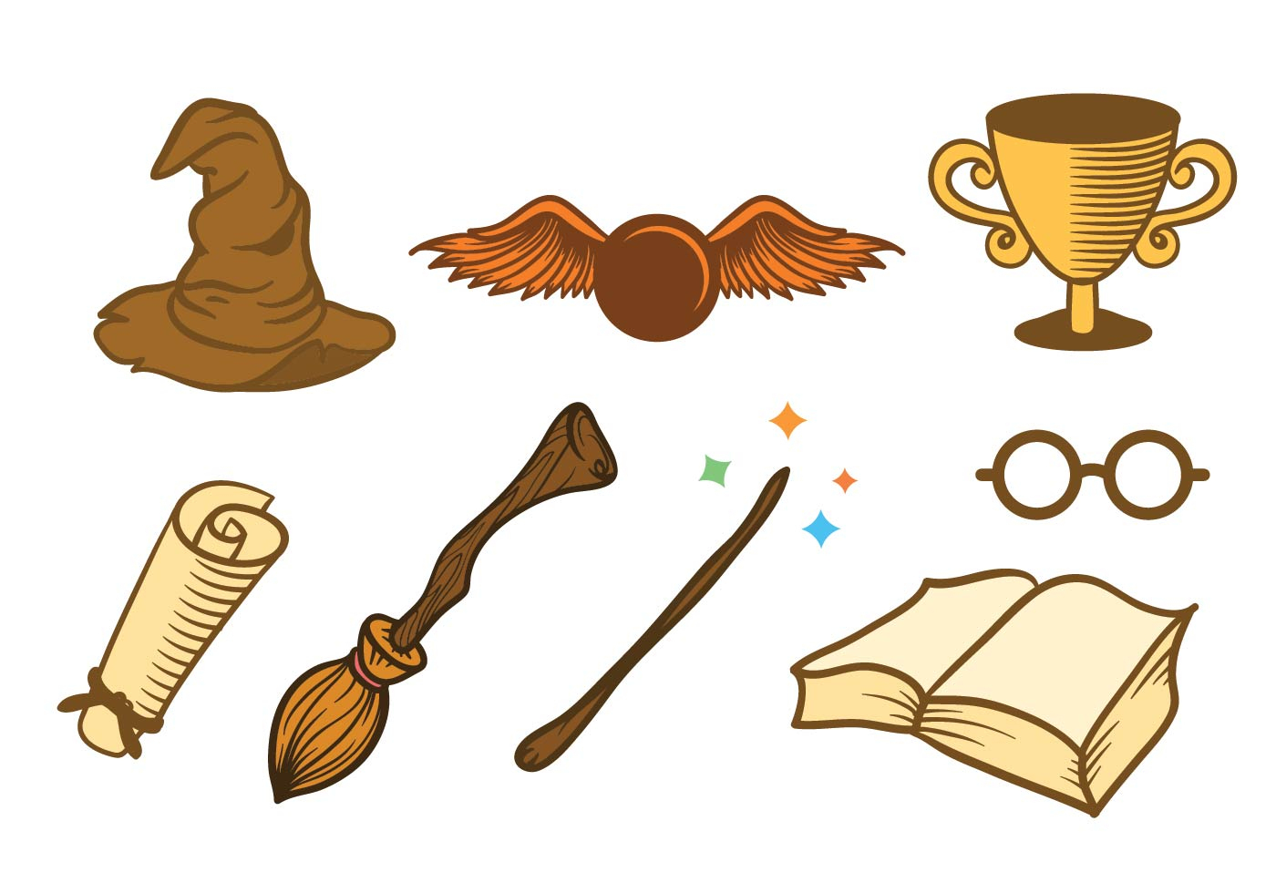 Free Harry Potter Clipart At Getdrawings.