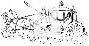 Cinderella Carriage Clip Art.