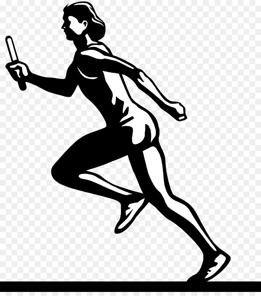 Track and field athletics Running Clip art.