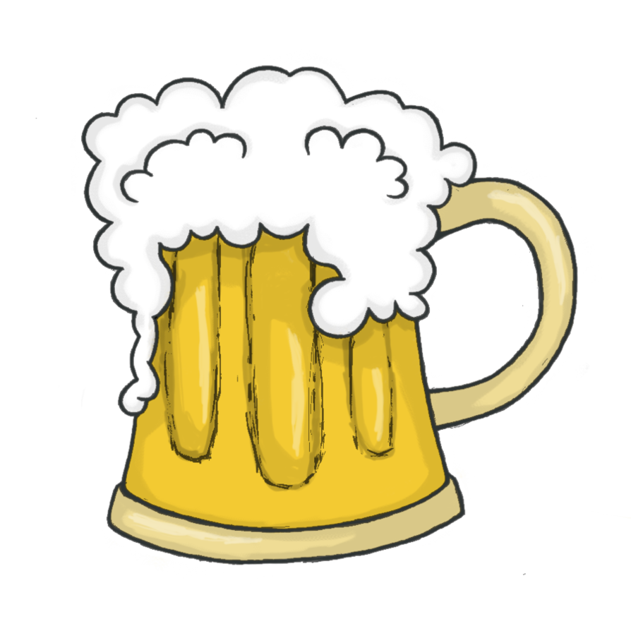 Beer Clipart (1927) Free Clipart Images — Clipartwork in beer.