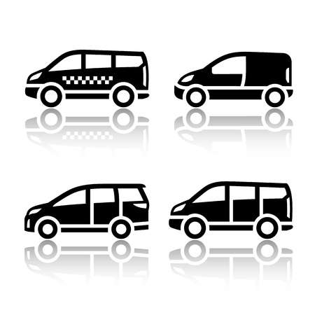 1,927 Mini Van Stock Vector Illustration And Royalty Free Mini Van.