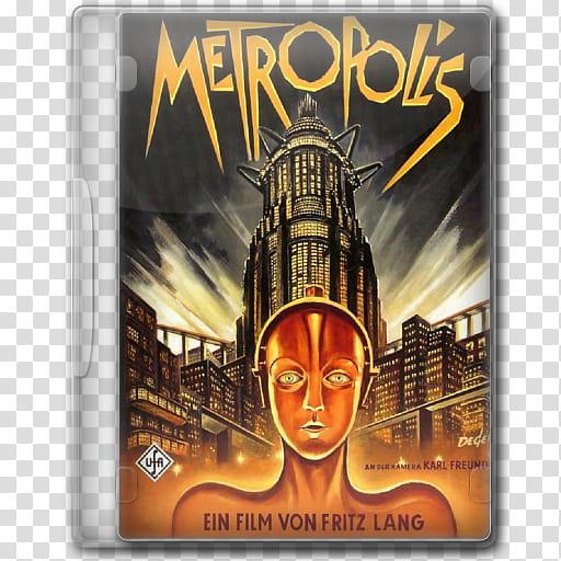The BIG Movie Icon Collection M, Metropolis transparent.