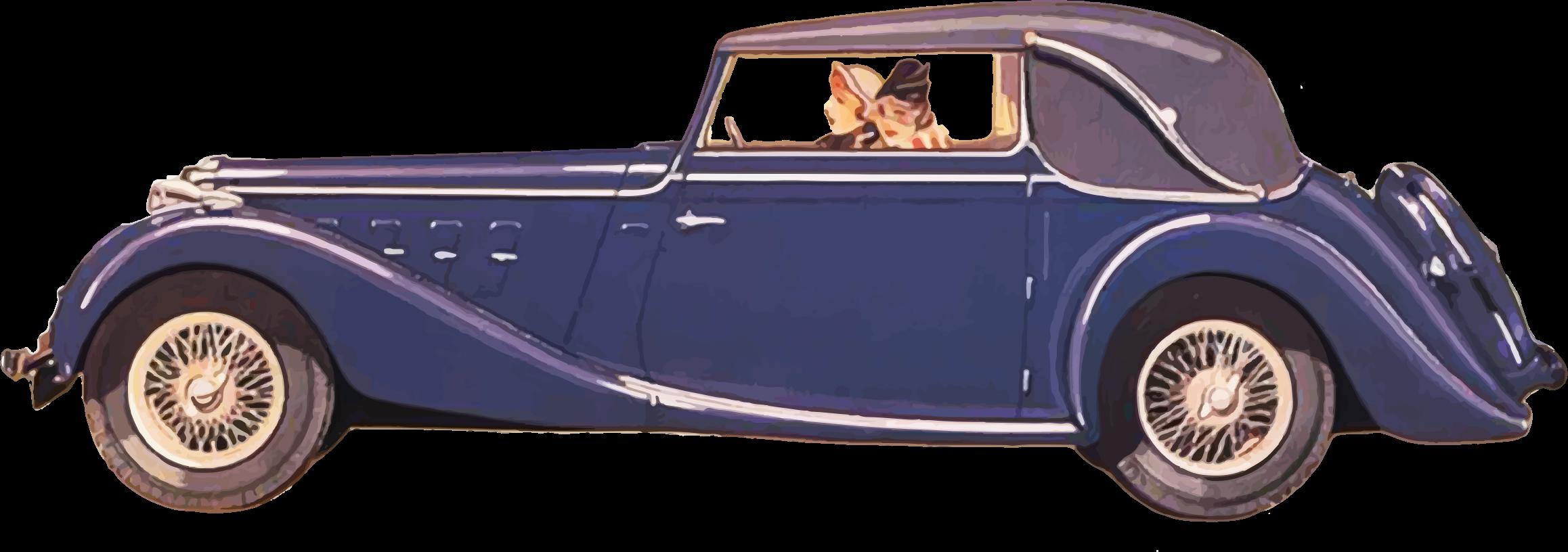 Vintage car Pickup truck Classic car Clip art.