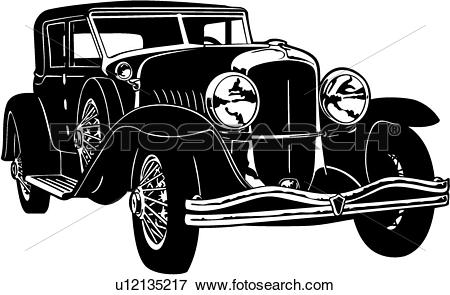 1929 ford model a clip art.