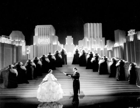 1930\'s Art Deco film set: Broadway Melody of 1938.