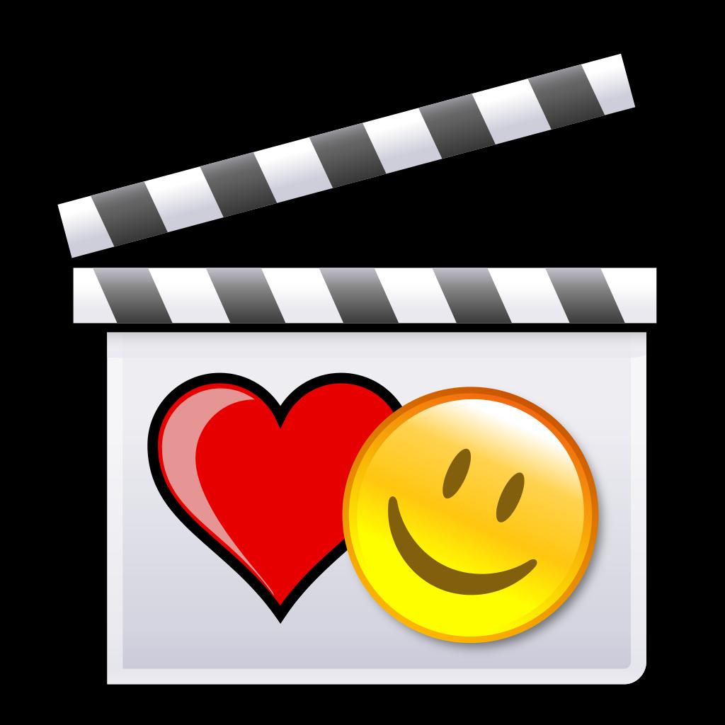File:Romantic comedy film clapperboard.svg.