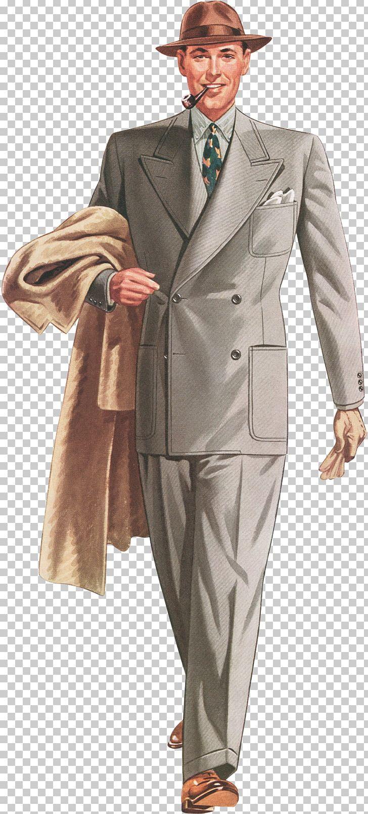 1930s 1940s Fashion Suit Vintage Clothing PNG, Clipart.
