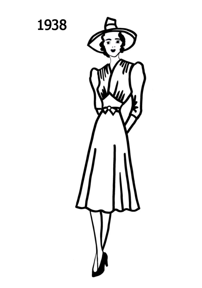 1930s Clipart.