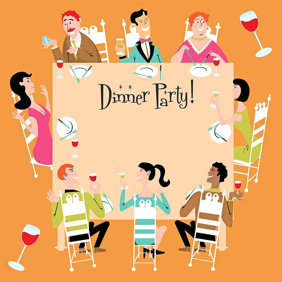 1930s dinner party clipart clipart images gallery for free.