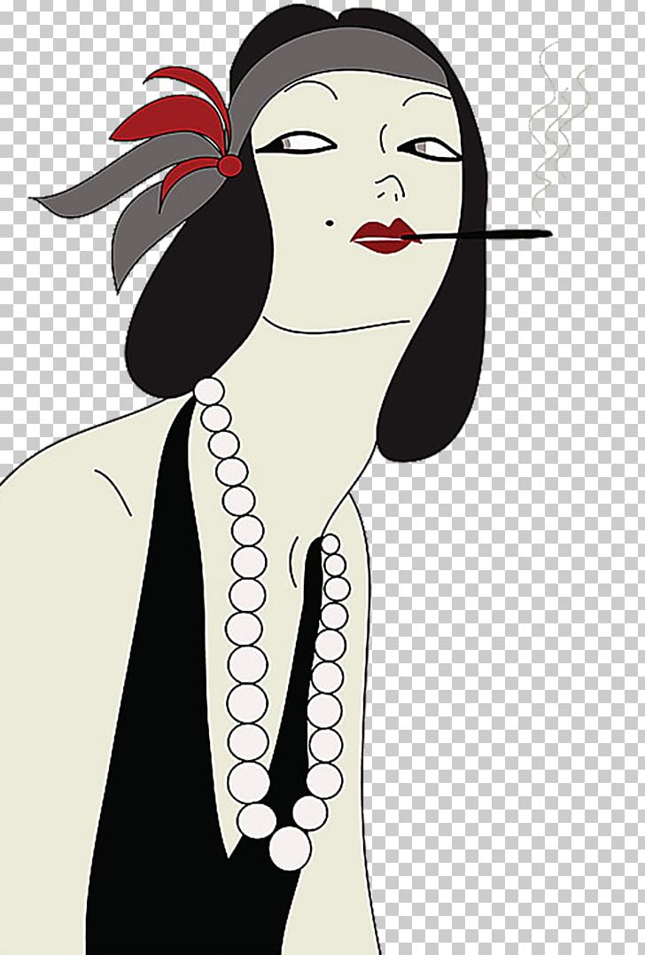 1920s 1930s Vintage Clothing Flapper Fashion PNG, Clipart.