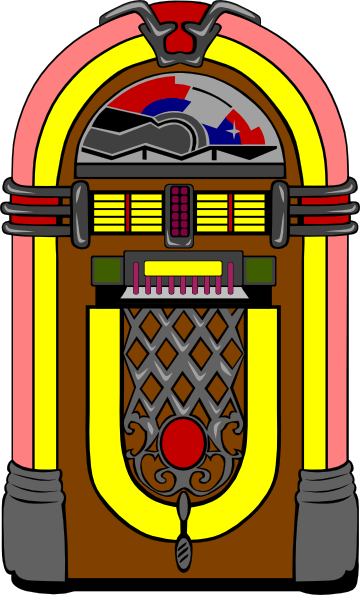 Juke box clip art clipart images gallery for free download.