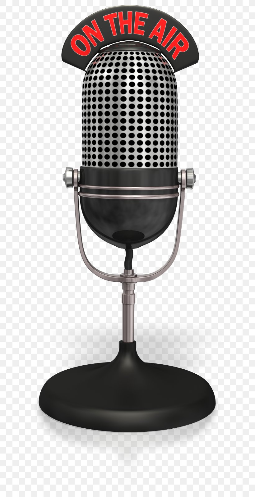 Wireless Microphone Golden Age Of Radio Clip Art, PNG.