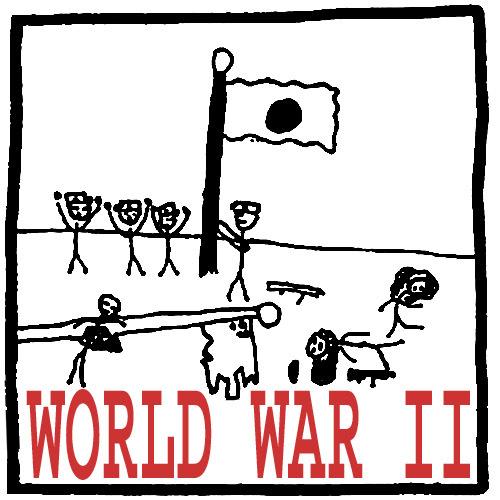 World War II History in Comics & Cartoons.