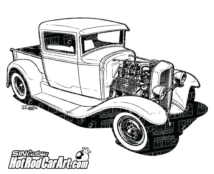 1932 Ford Truck.